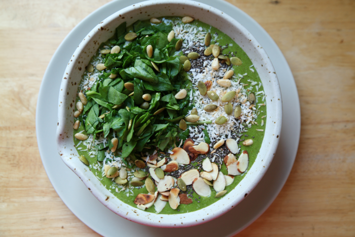 Energizing Green Elixir Smoothie Bowl