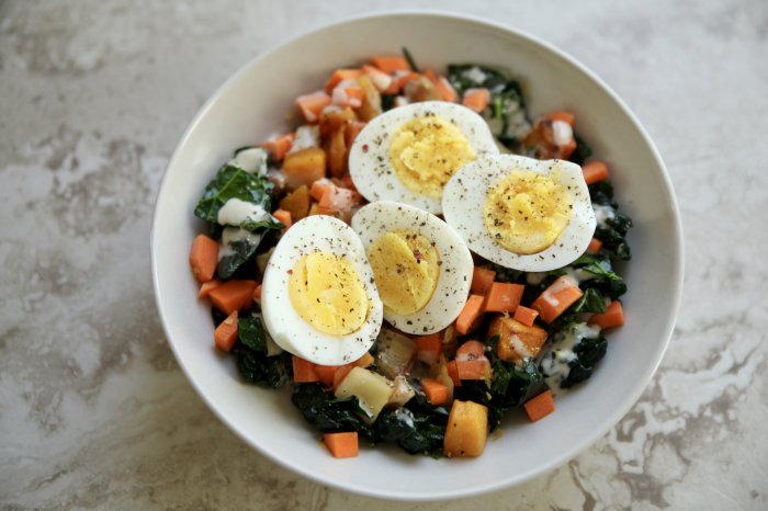 Lunch Bowl Series: Roasted Roots & Greens