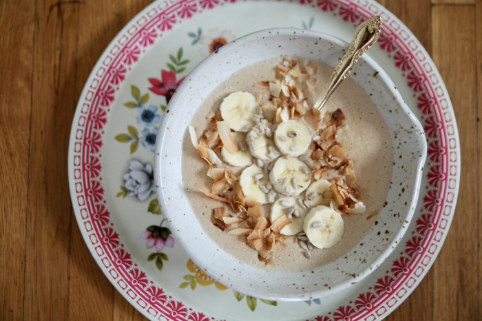 Try This Paleo Coconut Sunflower Porridge