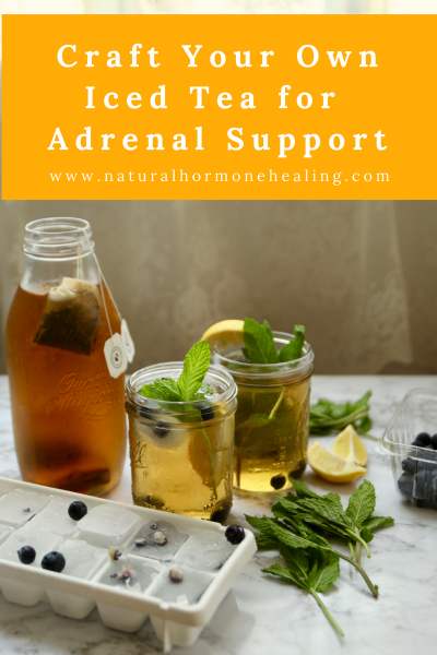 Iced Tea for Adrenal Support