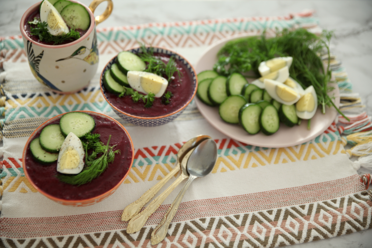 Summertime Beet Soup For Estrogen Detox