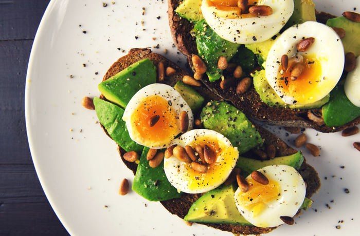 fertility foods avocado eggs