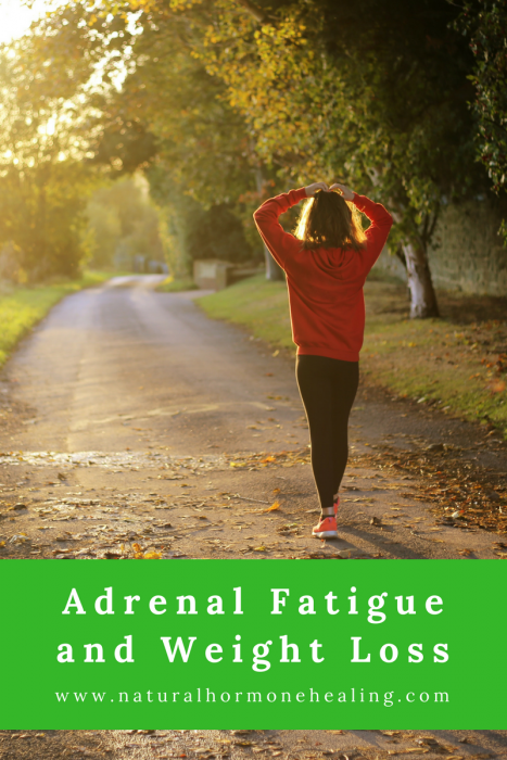 adrenal fatigue and weight gain