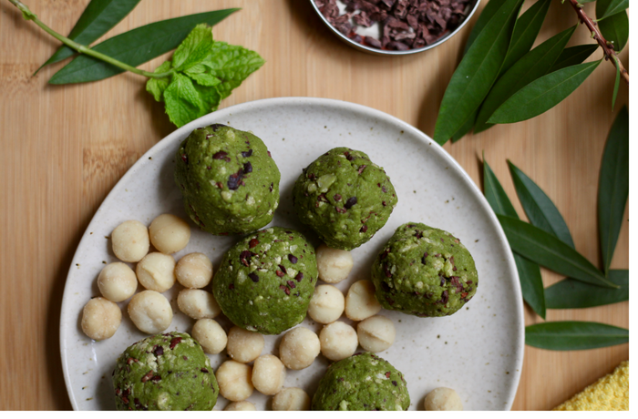 Chocolate Mint Fat Bombs For Hormone Balance