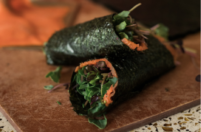 Best Hormone Balancing Snack? Try My Easy Smoked Salmon Sushi