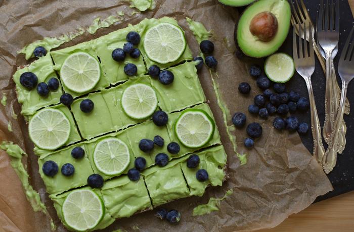 Easy No-Bake Avocado Key Lime Pie