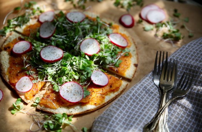 Hormone Balancing Pizza with Cauliflower Pizza Crust
