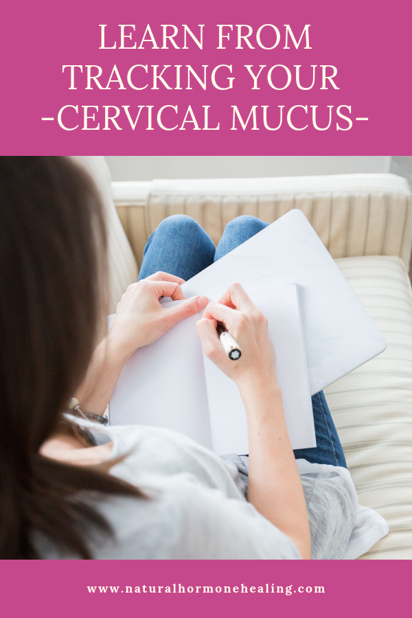 how to track cervical mucus
